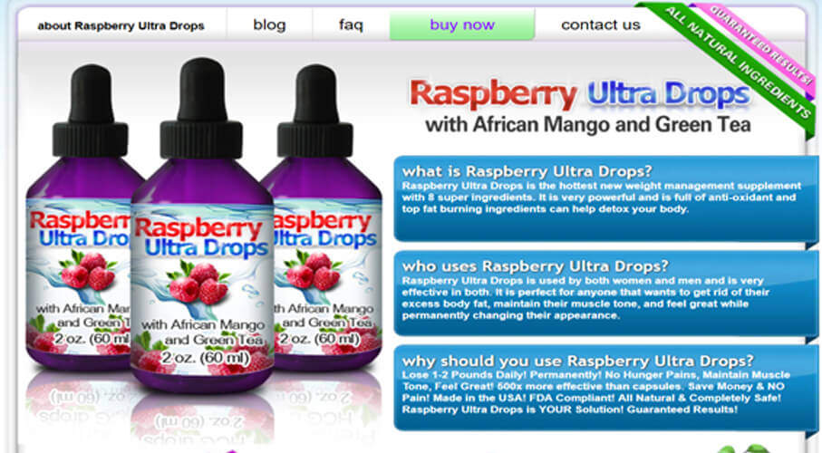 buy raspberry ultra drops