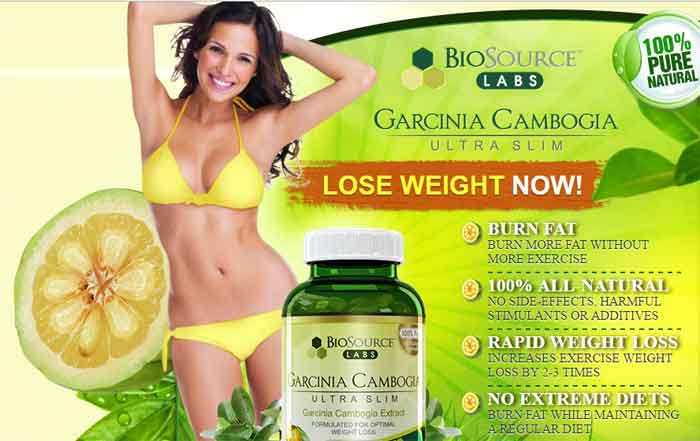 BioSource Labs Garcinia Cambogia Ultra Slim Burn Fat