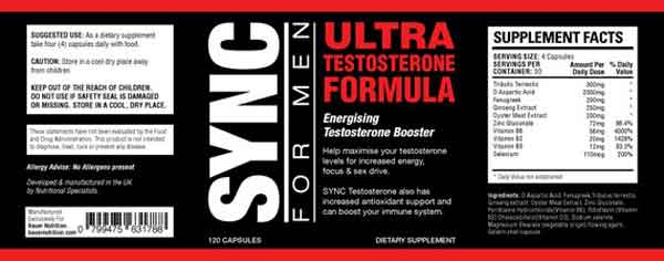 SYNC Ultra Testosterone review