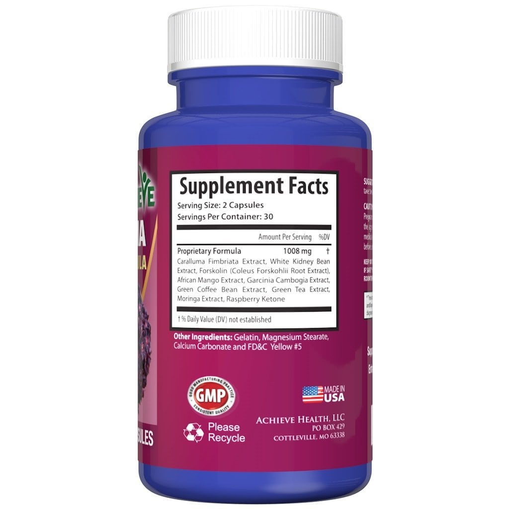 caralluma ultra supplement facts ingredients