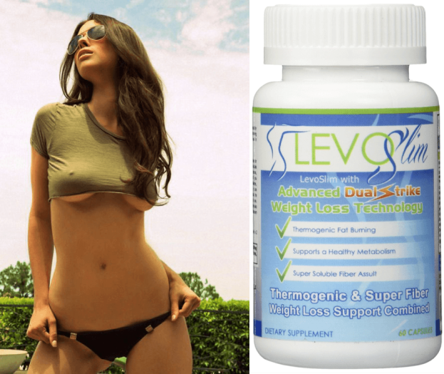 levoslim thermogenic & super fiber weight loss support combined