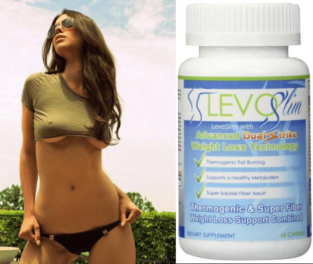 levoslim thermogenic & super fiber weight loss support combined