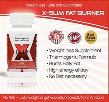 x-slim: lose weight without diet best thermogenic pill