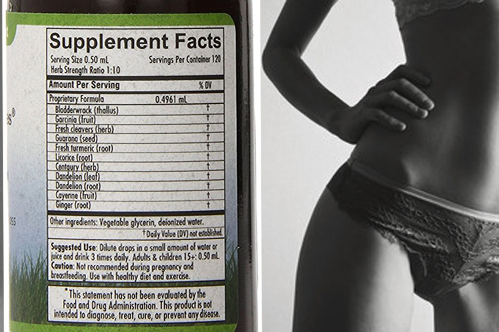 eco slim supplement facts ingredients