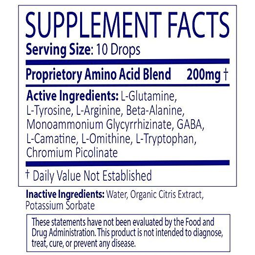xero diet drops ingredients