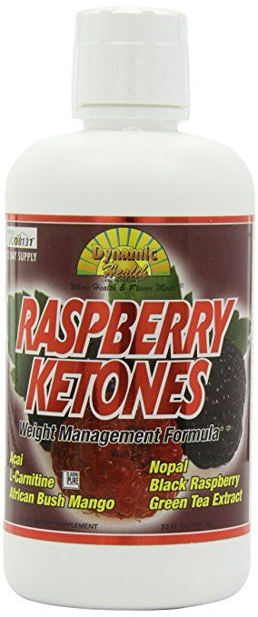 Raspberry Ketones Dynamic Health Juice Blend Liquid Dietary Supplement