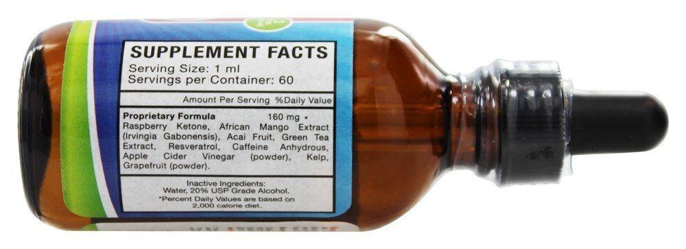 oxylife liquid RK supplement facts