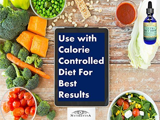 ultra diet drops calorie controlled diet plan