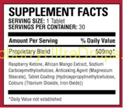 raspberry Bauer supplement facts