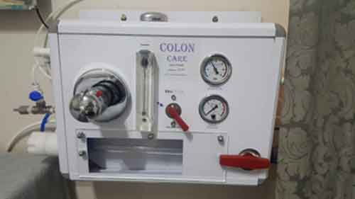 Colon irrigation device