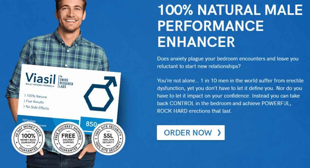 Viasil Male Potency Supplement From Wolfson Berg * Review 2019
